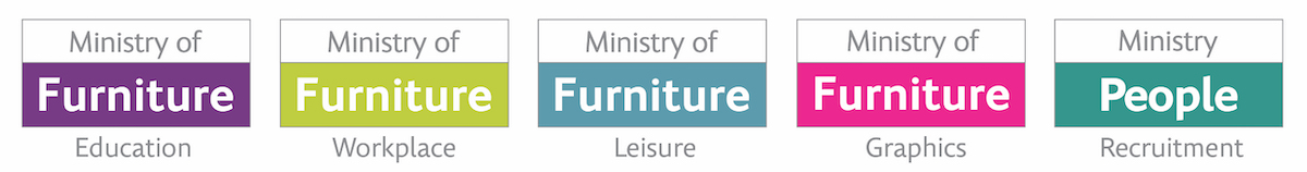 Ministry of Furniture Logos