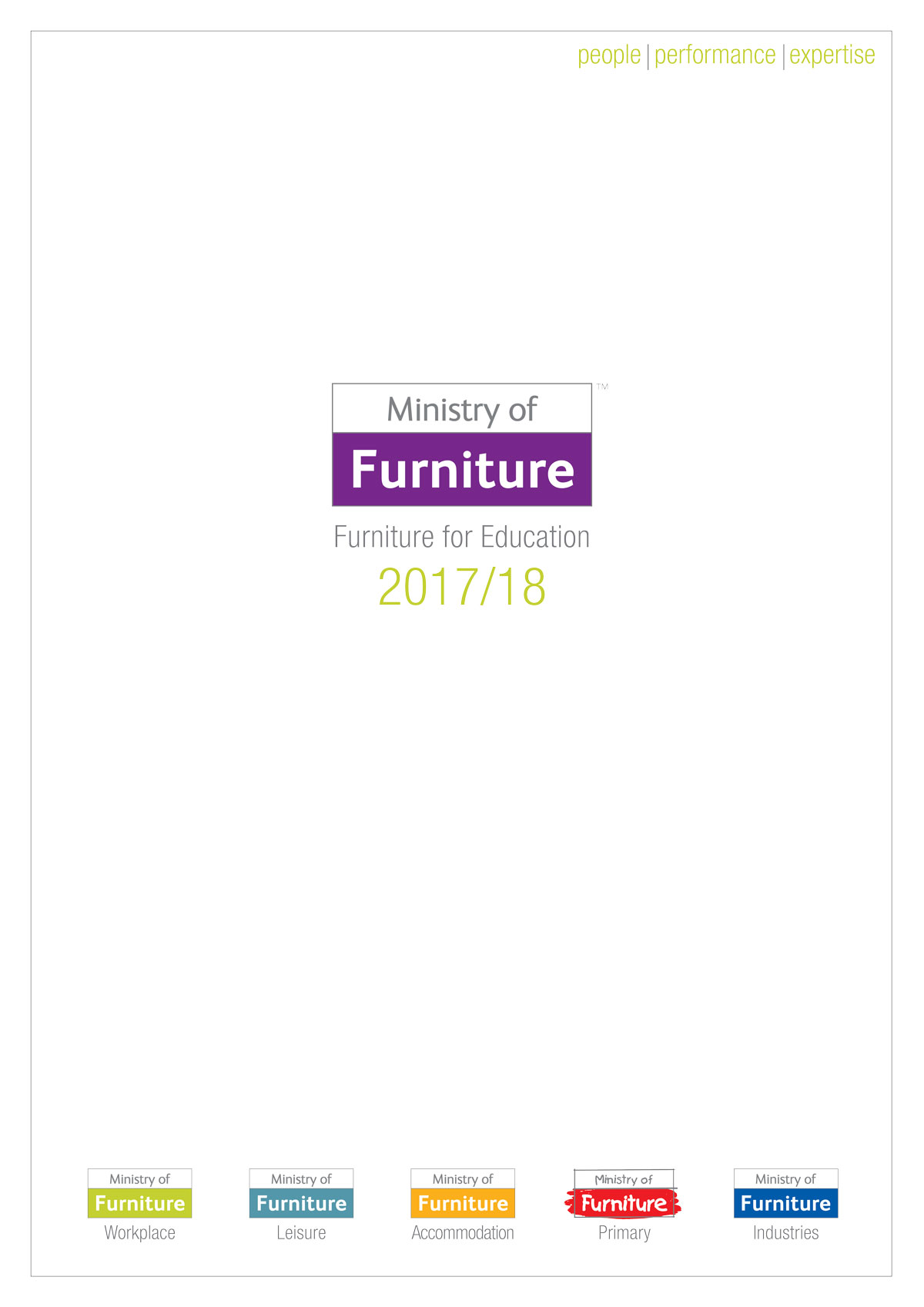 Ministry of Furniture Secondary Education Catalogue 2017/18